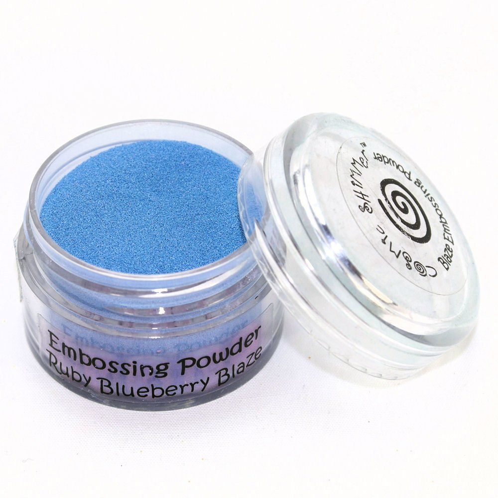 Cosmic Shimmer Blaze Empossing Powder, Ruby Blueberry Creative Expressions CSEPRUBYBL