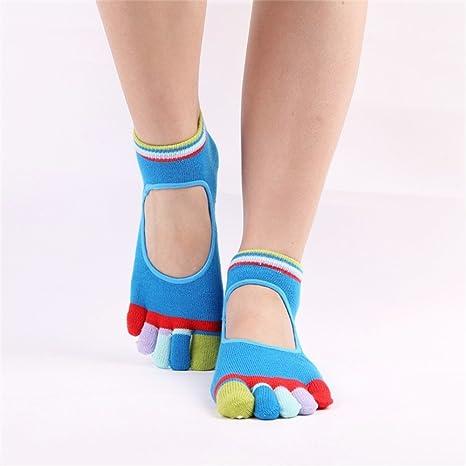 Calcetines de yoga Calcetines de yoga Calcetines de goma ...