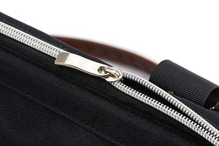 Fillikid Wickeltasche Exclusiv//Gro/ße Windeltasche mit Zubeh/ör//Handtasche abwischbar//Schnullerbag mit Wickelauflage /& Kinderwagen-Haken Design:schwarz