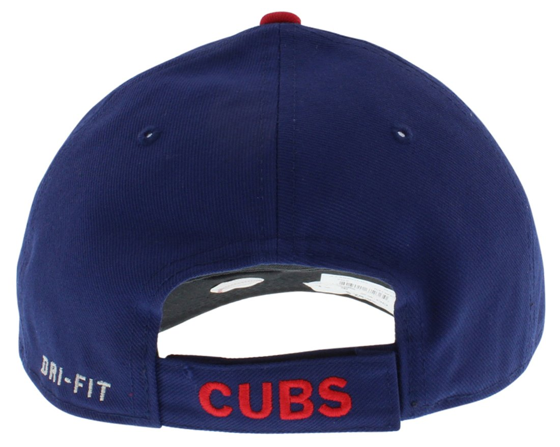 d7ff879e3a7 Amazon.com   Nike Dri-Fit Chicago Cubs MLB Classic Wool Hat Blue   Baseball  Caps   Sports   Outdoors