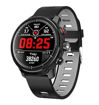 STEAM PANDA Relojes Inteligentes Pulsera para Hombres Dinámica del Ritmo cardíaco Monitoreo Consumo de calorías Círculo Completo Toque Iluminación LED IP68 ...