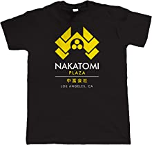 vectorbomb Nakatomi Plaza Mens T Shirt