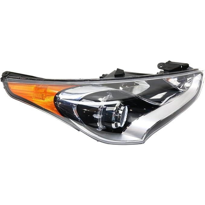 evan-fischer eva135052317407 Faro Delantero para Hyundai Veloster 12 - 16 derecha Asamblea Proyector tipo sustituye partslink # hy2503170: Amazon.es: Coche ...