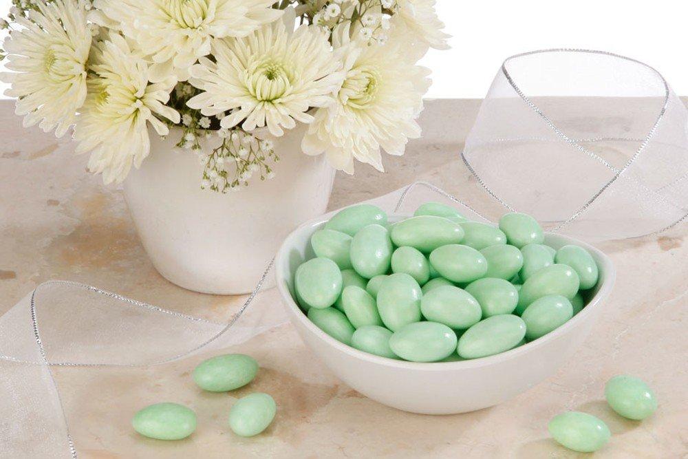 Green Jordan Almonds (5 Pound Bag) by FavorOnline