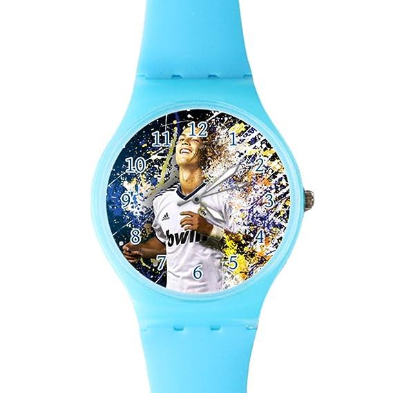 g-store Cristiano Ronaldo # 7 Real Madrid plástico de cuarzo esfera reloj azul