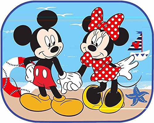 EURASIA Disney Minnie And Mickey Sunshades 2 Side Window Sun 44x35cm x 2pcs Sun Shade Nickelodeon Blaze 27006