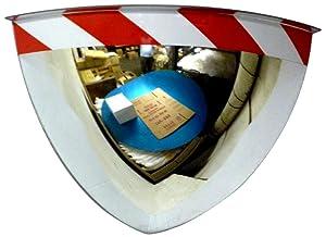"See All PV32- 90RTPanaramic Quarter Dome Plexiglas Security Mirror, 90 Degree Viewing Angle, 32"" Diameter"