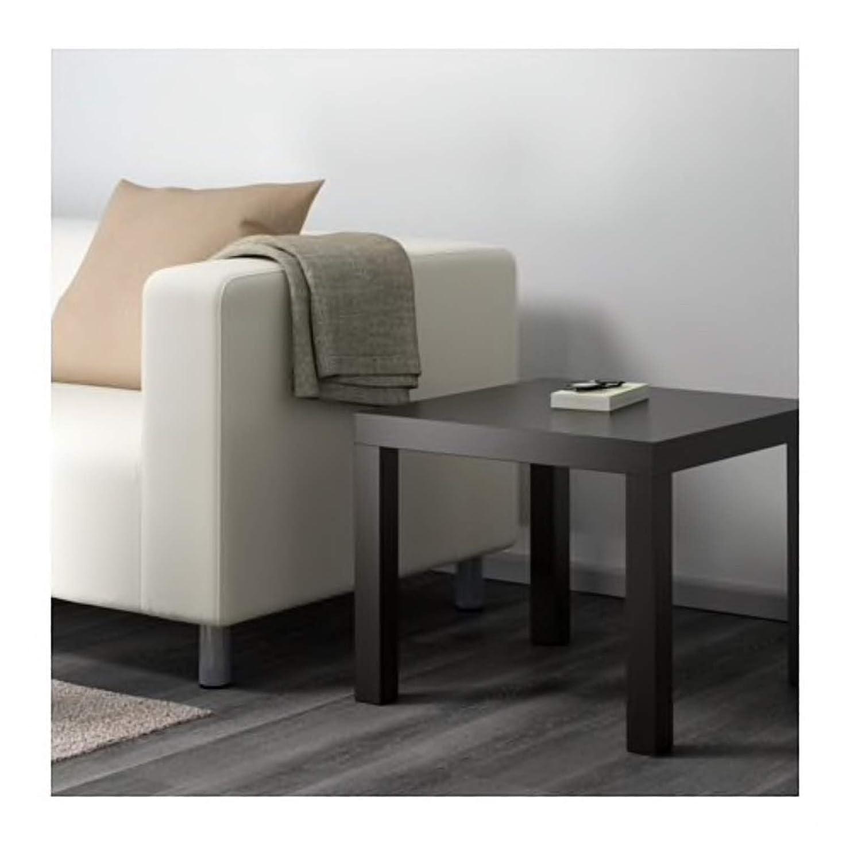 IKEA Lack - Mesa Auxiliar (55 x 55 cm), Color Negro