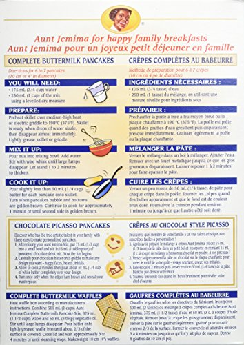 Amazon Aunt Jemima Complete Buttermilk Pancake Mix Pack Of 12