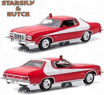Voiture FORD Gran Torino 1976 du Film Starsky et Hutch en Métal au 1//24