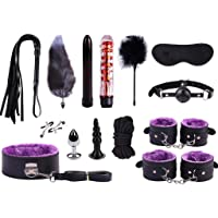 CJH Feeke Bed Bṍndḁge Rḗstraints Bṑund Kit 14 Set for Women Couples with Soft and Comfortable Wrist Ankle Cuffs Straps…