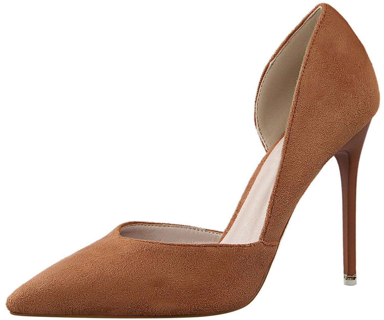 c012fedc Barato D'orsay Tacones altos Mujer Pointed Toe Zapatos de tacón Elegante  Stiletto Vestir Zapatos