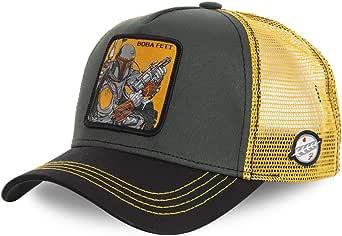 Capslab Gorra Boba Fett Verde Amarillo Original: Amazon.es: Ropa y ...