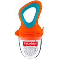 Fisher-Price Ultra Care Silicone Food Nibbler, Orange