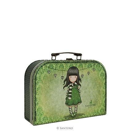 Gorjuss The bufanda tamaño mediano caja de maletas para niños: Amazon.es: Hogar