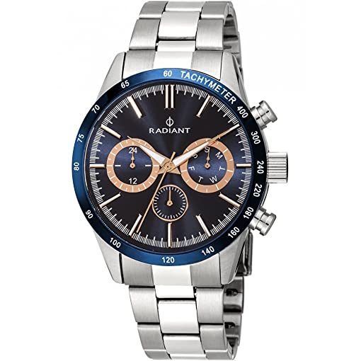RADIANT New Empire Steel RA411204 Blue Man Watch