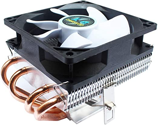 Chengleilei 4 Tubos de Cobre CPU radiador chasis pequeño ...