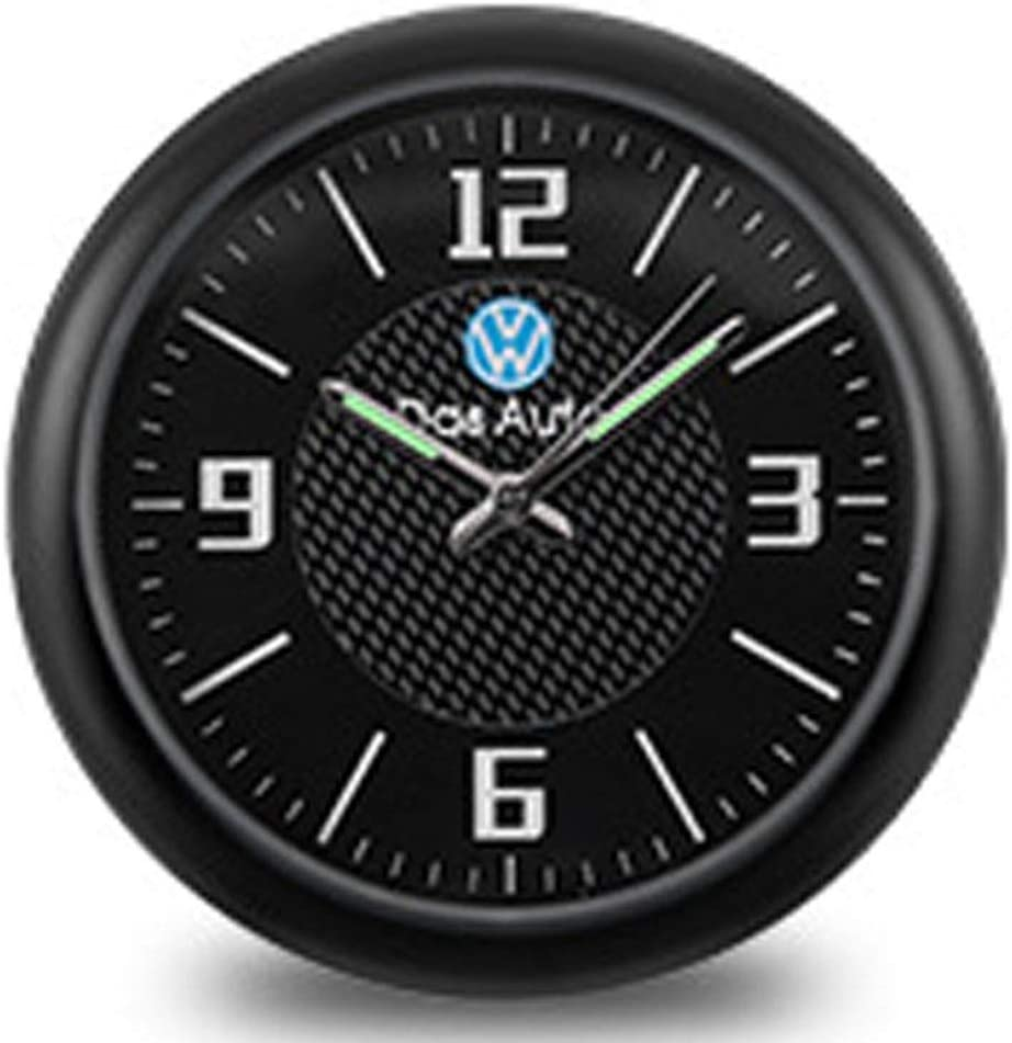 JHEK Car Clock Stick On Car Air Vent Clip Clock Automobile Luminous Dashboard Clock Stick-On Clock Choose From A Variety Of Brands Quartz Surface Alloy Material 2020 New UpgradeHonda