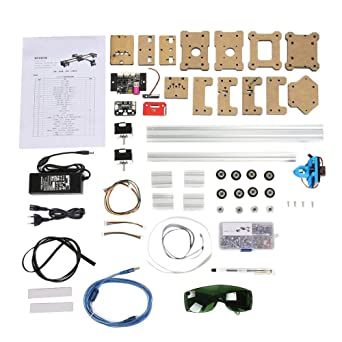 Máquina de Dibujo, Robot de Dibujo 2Axis DIY CNC XY Plotter Pen Drawing Robot 100-240VA Pintura Handwriting Robot Kit(EU): Amazon.es: Industria, empresas y ciencia