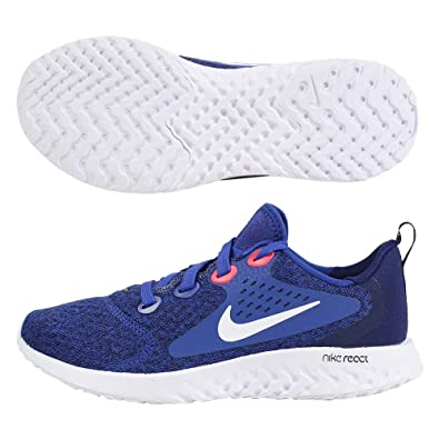 d58e8e9a46a4 Nike Kids Boy's Rebel React (Big Kid) Indigo Force/White/Blue Void