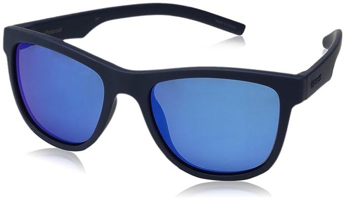 Polaroid PLD 8018/S JY CIW 47 Gafas de Sol, Azul (Rubber ...