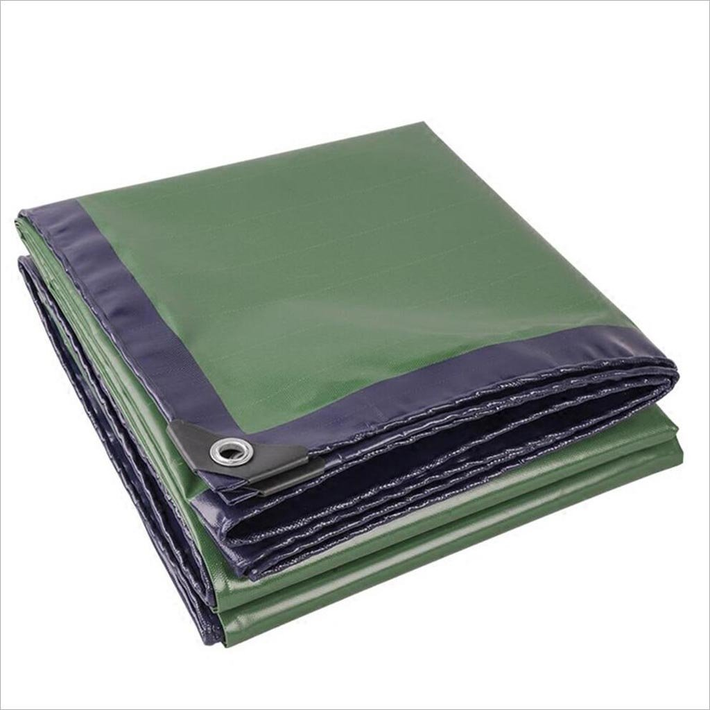 Plane JIU Blau und grün zweifarbige LKW wasserdicht Sonnenschutz Markise Tuch Schatten Tuch Sehr praktisch (größe   3X 4m)