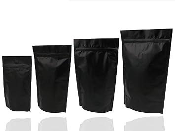 Calor sello soporte de aluminio negro up bolsas/bolsas ...