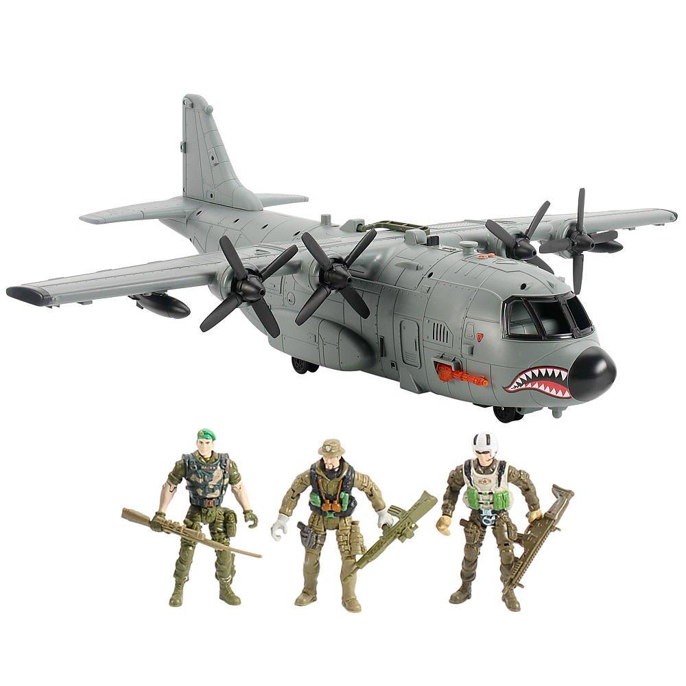 Amazon.com: True Heroes AB-115 Shark Plane: Toys & Games