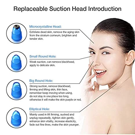 Amazon.com: Blackhead Remover Pore Vacuum Suction - Facial ...