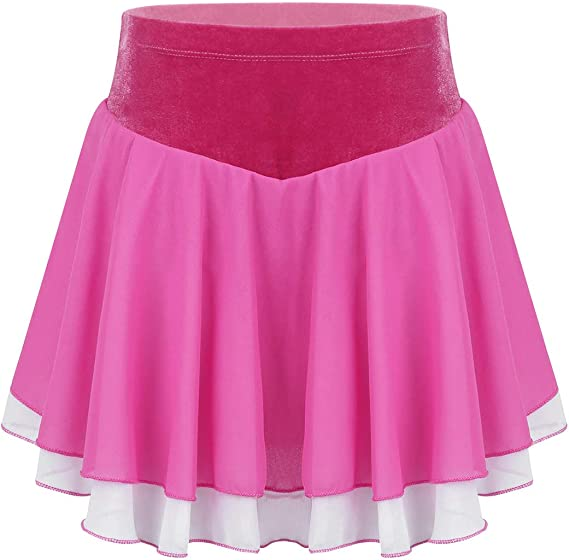 iixpin Mini Falda Plisada Cintura Alta Elástica Falda de Patinaje ...