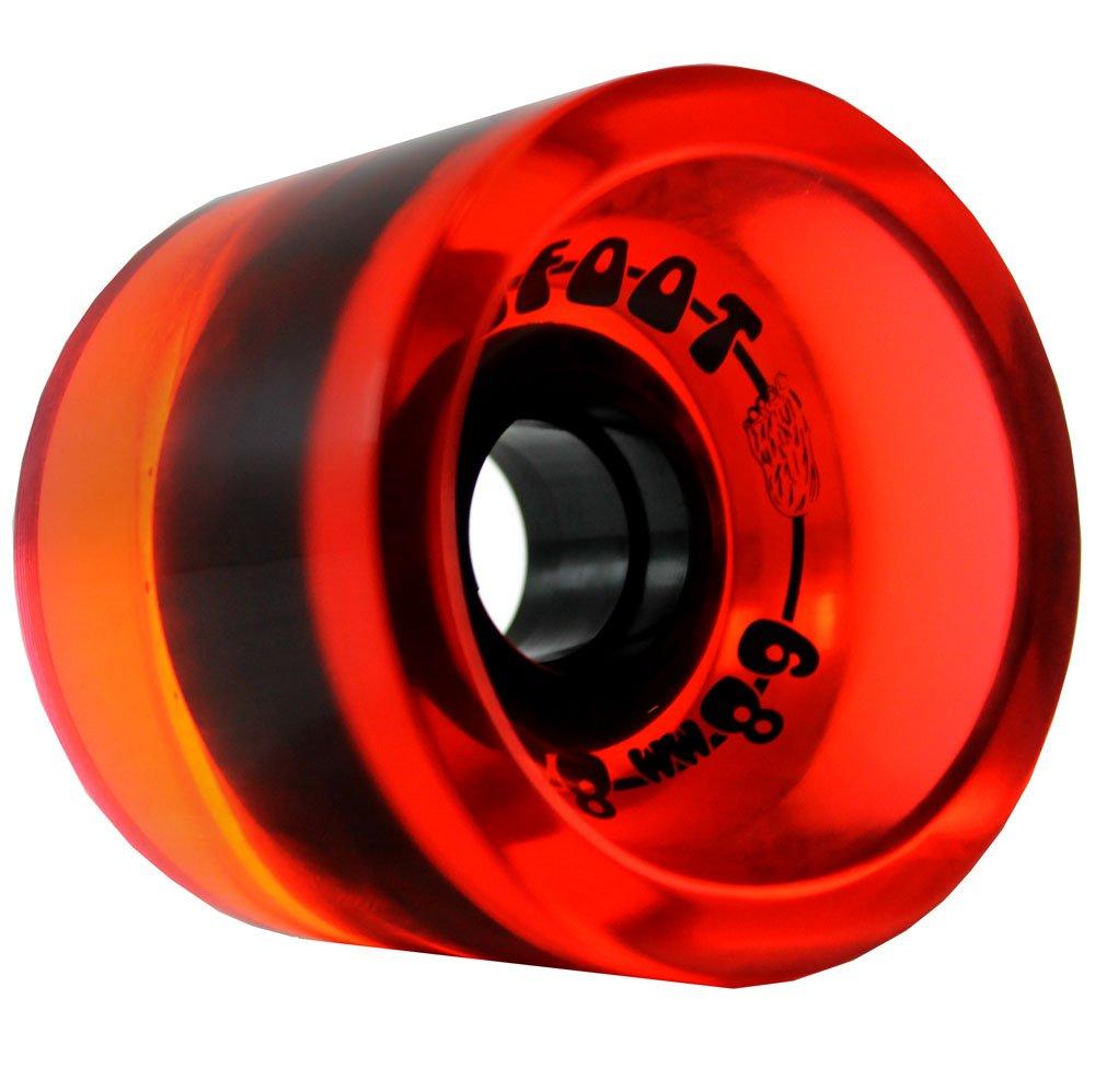 Bigfoot Longboard Wheels 68mm x 56mm 80A Conical Boardwalks Black KEYBQ pallet ordering BF-68BW-BLK