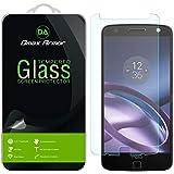 [3-Pack] Motorola Moto Z / Moto Z Droid Screen Protector, Dmax Armor [Tempered Glass] 0.3mm 9H Hardness, Anti-Scratch, Anti-Fingerprint, Bubble Free, Ultra-clear
