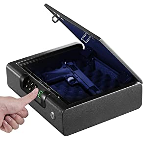 BILLCONCH Biometric Handgun Safe Review