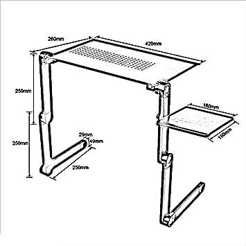 Amazon Com Tables Ynn Foldable Laptop Desk Portable Laptop Desk