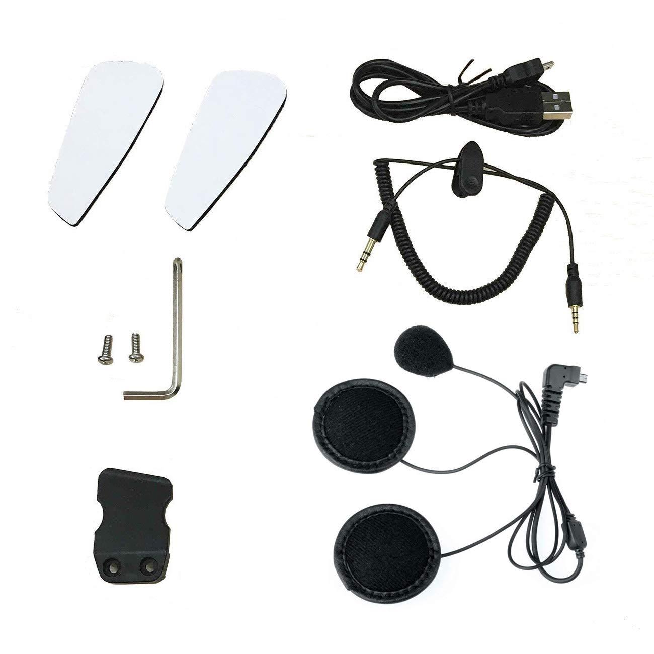 BT-S2 Motorcycle Intercom Soft Earphone Microphone Accessories