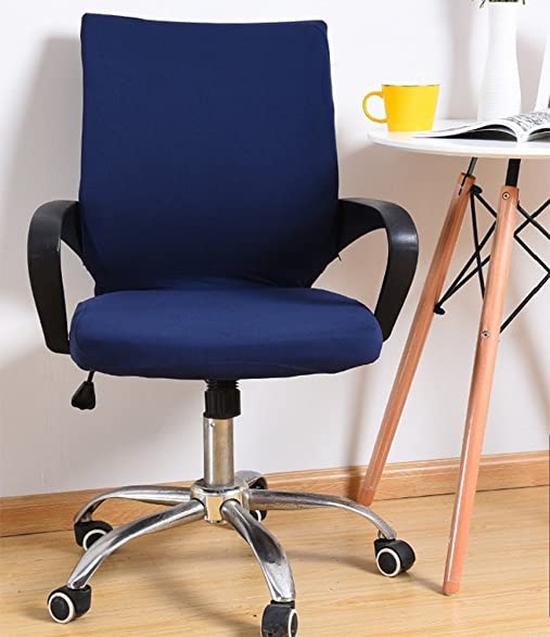 amazon com yiwant stretch removable washable office chair cover