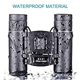 8x21 Folding High Powered Lightweight Binoculars With Anyprize Vision Clear Bird Watching Great for Outdoor Sports Games and Concerts For Travel Adults Kids
