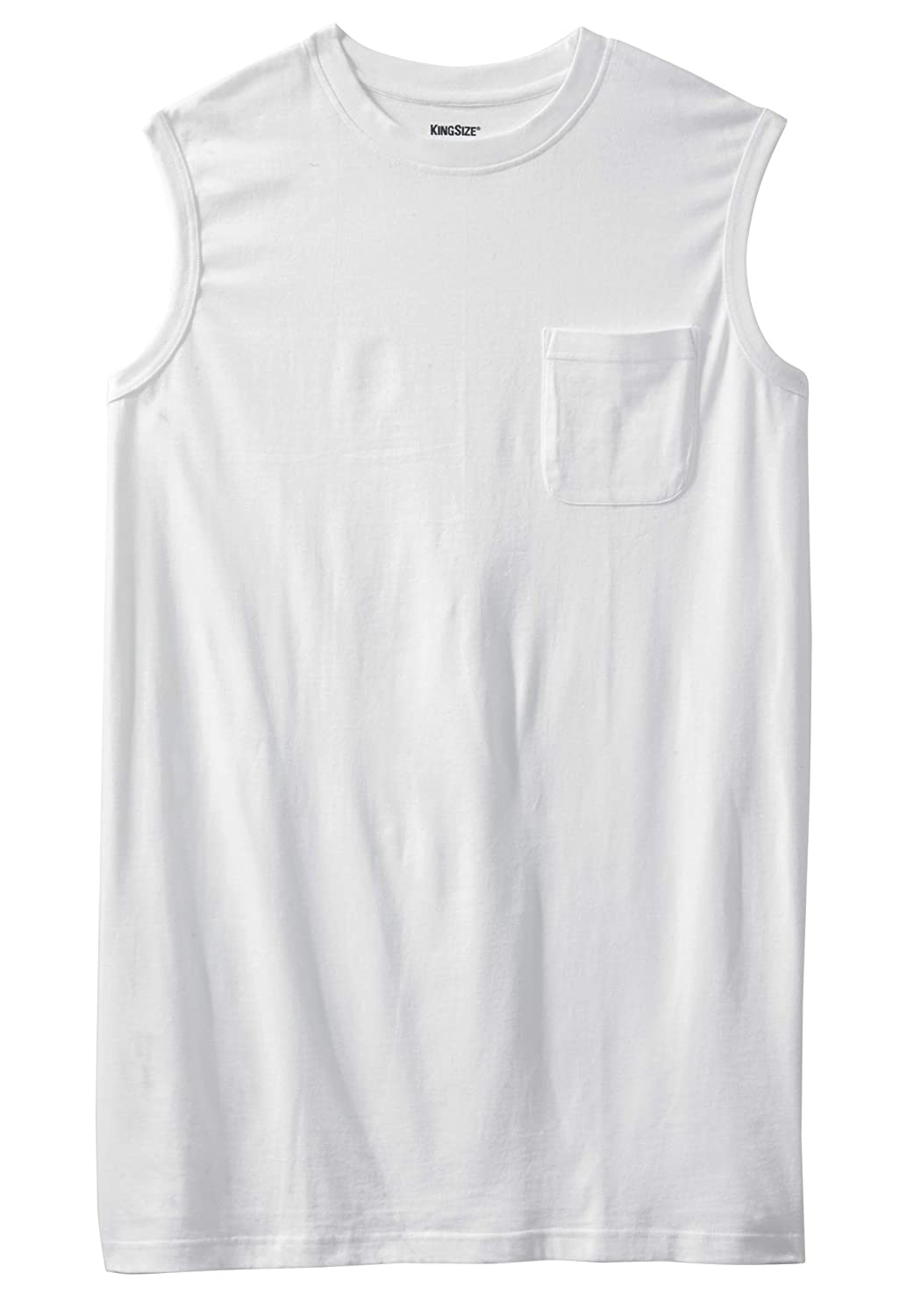 KingSize Mens Big /& Tall Longer-Length Lightweight Muscle Tee