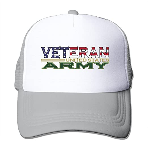 1f27773e321a43 Amazon.com: US Army Military Veteran Trucker Hat Snapback Cap: Clothing