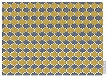 Luxuriös Designer Marokkanische 100% Baumwolle Tischdecke   Badi   Grau    U0026quot;Marrakeschu0026quot;