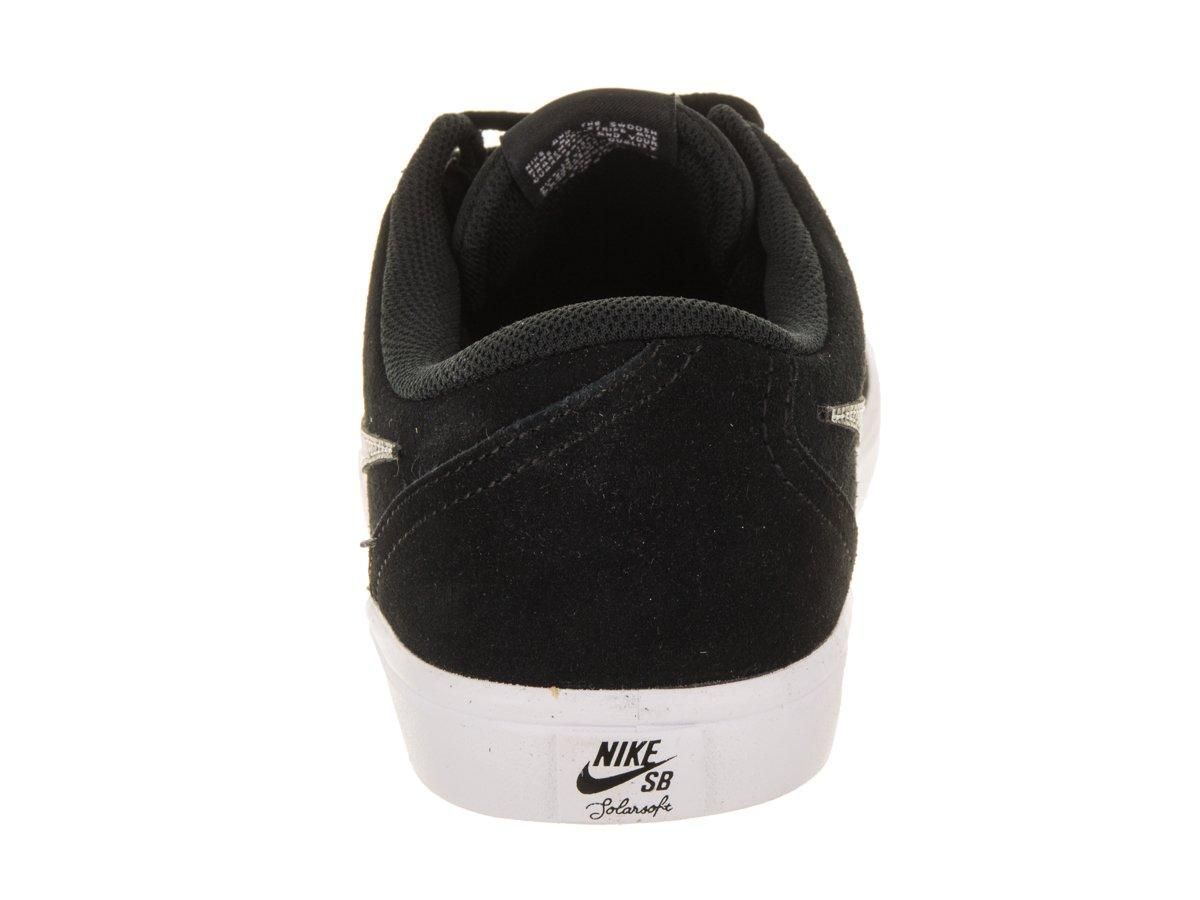 Nike Unisex SB Check Solar Black/Black White Skate Shoe 8.5 Men US / 10 Women US by Nike (Image #3)
