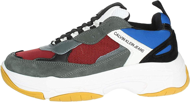 Calvin Klein S1771 - Pantalones vaqueros para hombre, Rojo (granate), 42 EU: Amazon.es: Zapatos y complementos