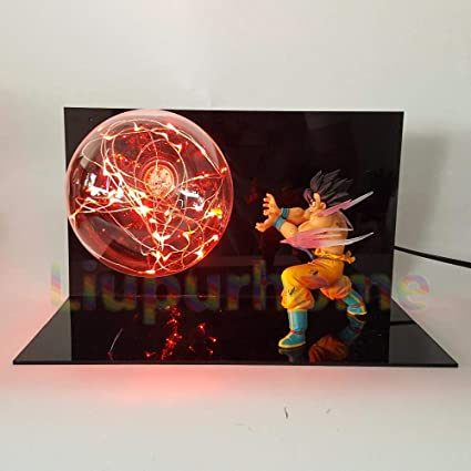 Dragon Ball Z Son Goku Vegeta Super Saiyan Diy Led Lamp Anime Dragon Ball Z Dbz Son Goku Led Lighting Decoration Led Lamps