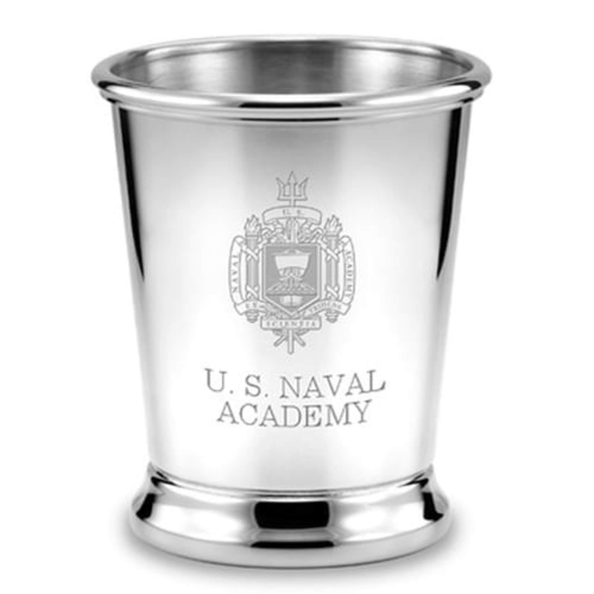 M. LA HART Naval Academy Pewter Julep Cup