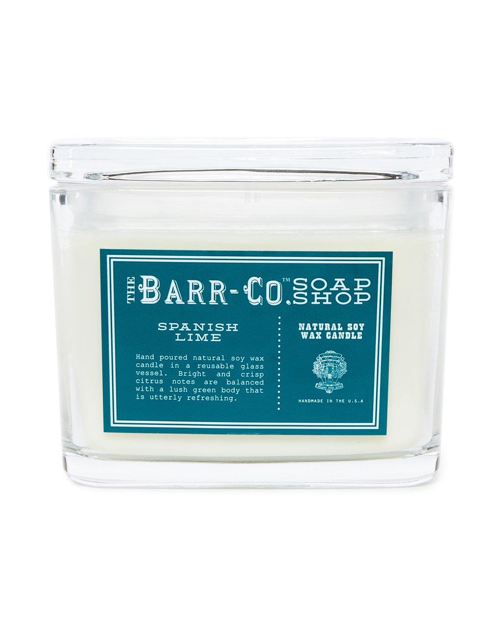 【別倉庫からの配送】 barr-coスペイン語ライム香り2-wick B0766PSZ4J Jar Jar Candle – – Glass Jar B0766PSZ4J, apiapi Collection:52b2a215 --- a0267596.xsph.ru