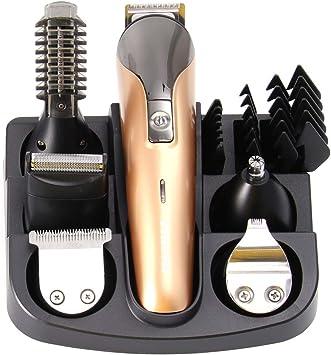 EXCEART 1 Juego de Cortapelos para Cortar El Pelo Recortador de Barba Máquina de Afeitar Multifunción Cortadora de Pelo Eléctrica Profesional (Unisex): Amazon.es: Belleza