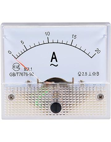 DC 1 A calibre analógico de Panel Amperímetro ampmeter 85C1 clase 2.5 DC 0-1 A Ga