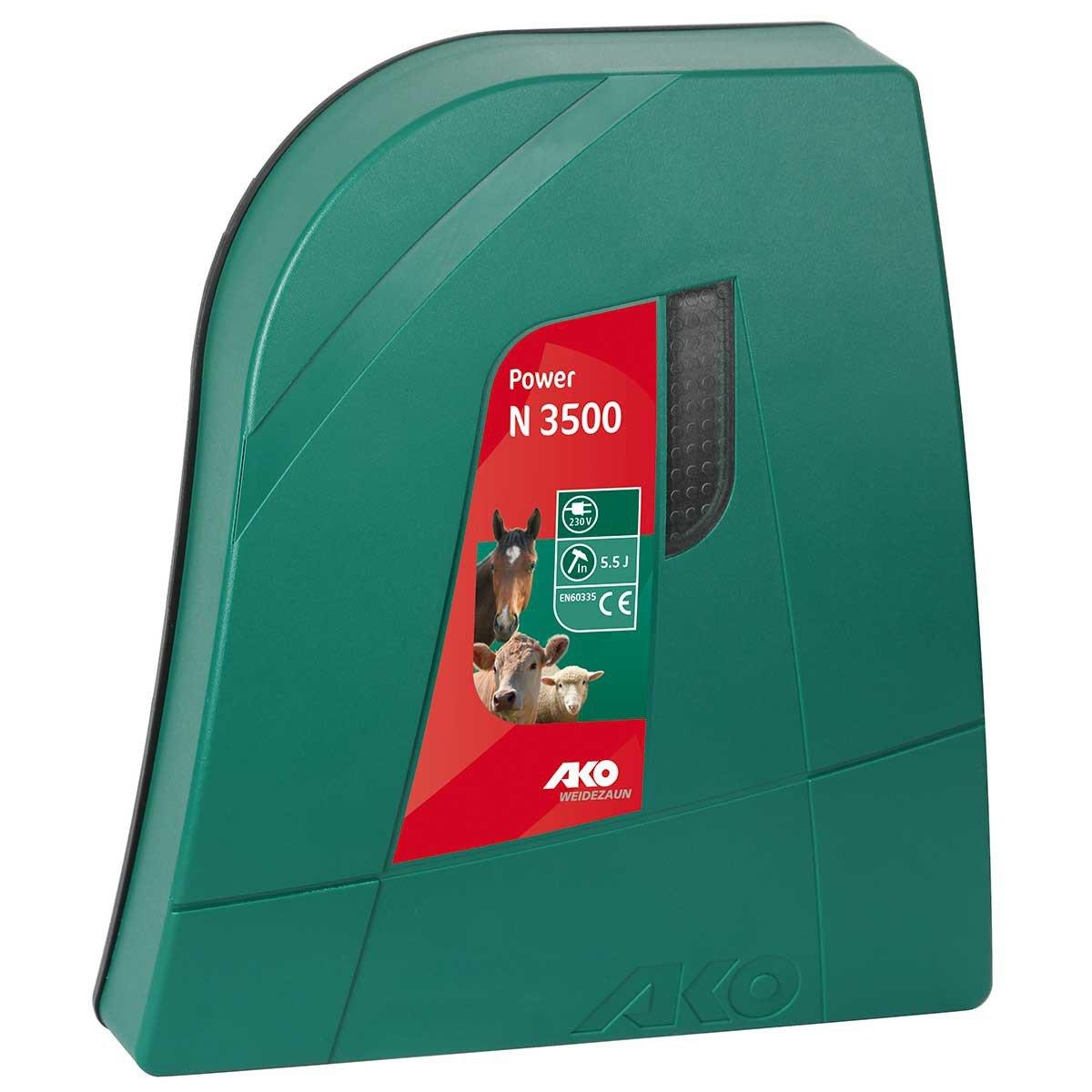 Ako Weidezaungerät Power N 3500 230V Netzgerät NEU