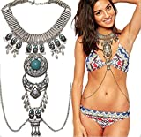 Body Chains Fashion Women Novelty Jewelry Necklace Belly Chain