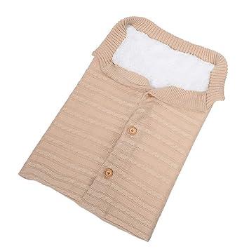 Queta - Saco de Dormir para bebé (Tejido de Lana y Terciopelo) Beige Beige: Amazon.es: Informática